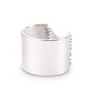 Silver tall Chloe chain Ring by Jenny Bird