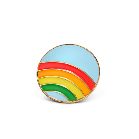 The Blue Skies Pin by Jenny Bird