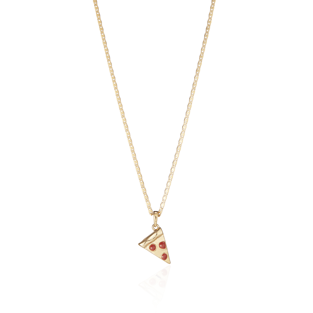 Slice Slice Baby Charm & Elli Chain Necklace