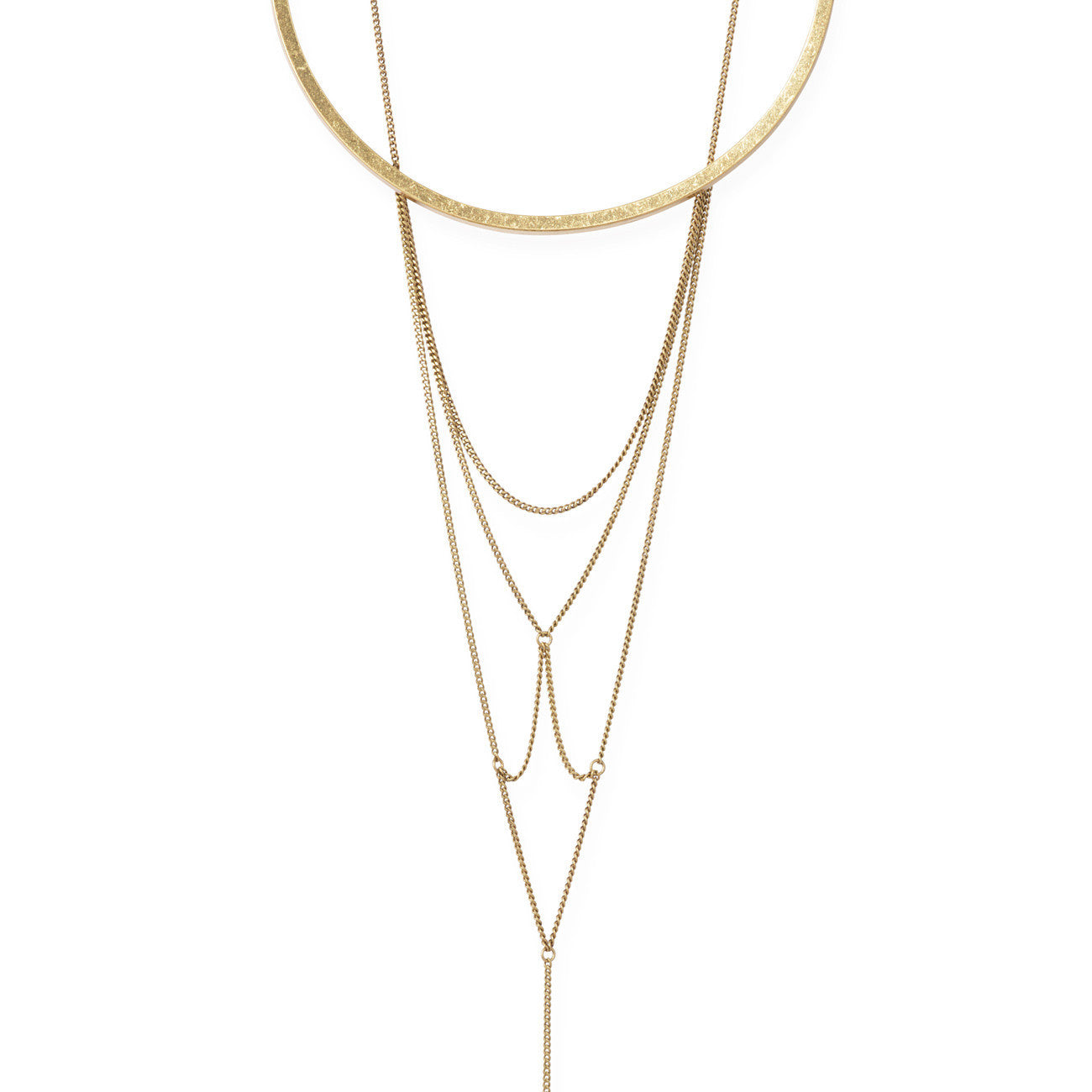 Neith Necklace in Gold by Jenny Bird