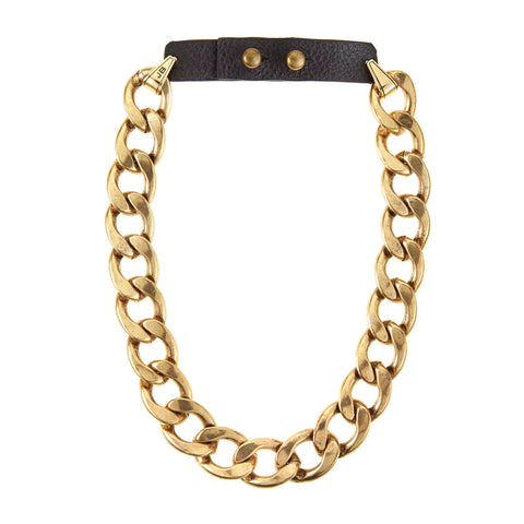 RiRi Collar in Gold by Jenny Bird
