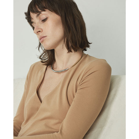 The Small Lola Collar by Jenny Bird in Two-Tone