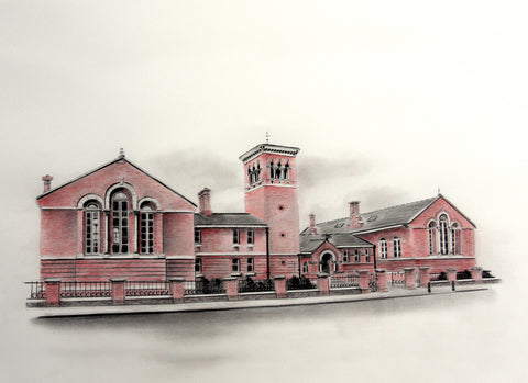 District Courthouse, Cork by artist Trevor Goring