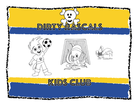 2018 Dirty Rascals Kids Club Membership