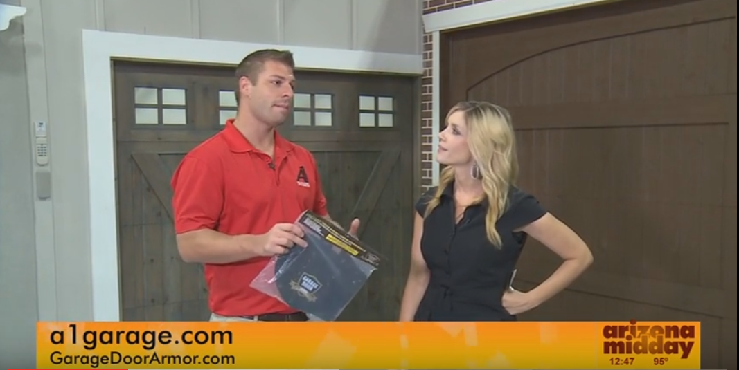 Garage Door Armor on the Arizona Midday News