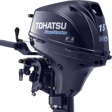 Tohatsu 15hp Engine