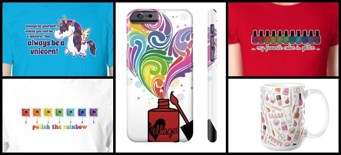 Cases and Tee Shirts and Mugs, Oh My!
