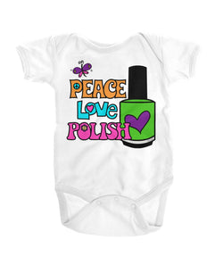 Infant Onesie - Peace Love Polish