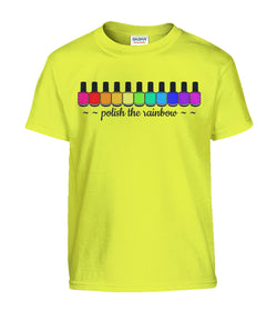 Tee - Kids - Polish The Rainbow