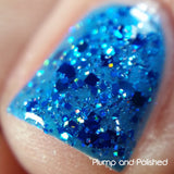 Crushed Blue Zircon