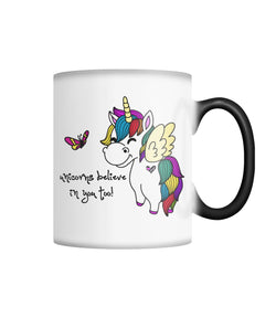 Color Changing Coffee Mug - Believe Color Changing Mug