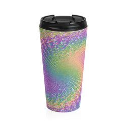 Stainless Steel Travel Mug - Tie Dye