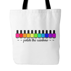 Tote Bag - Polish The Rainbow