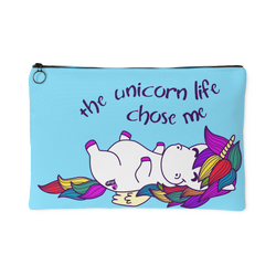 Zippered Cosmetic Bag - Unicorn Life