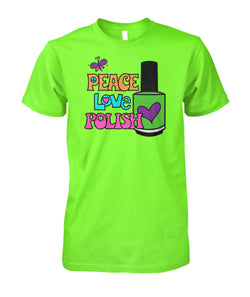 Tee - Classic - Peace Love Polish