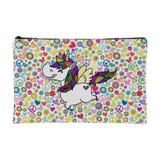 Zippered Cosmetic Bag - Frolic
