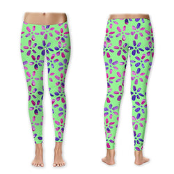 Leggings - Watercolor Flowers