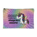 Zippered Cosmetic Bag - Always Be A Unicorn