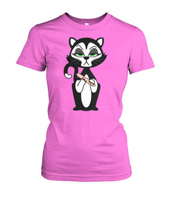 Tee - Fitted - Acetone Alley Cat
