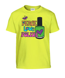 Tee - Kids - Peace Love Polish