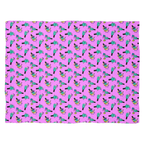 Fleece Blanket - Penelope Polish - Large