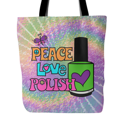 Tote Bag - Peace Love Polish