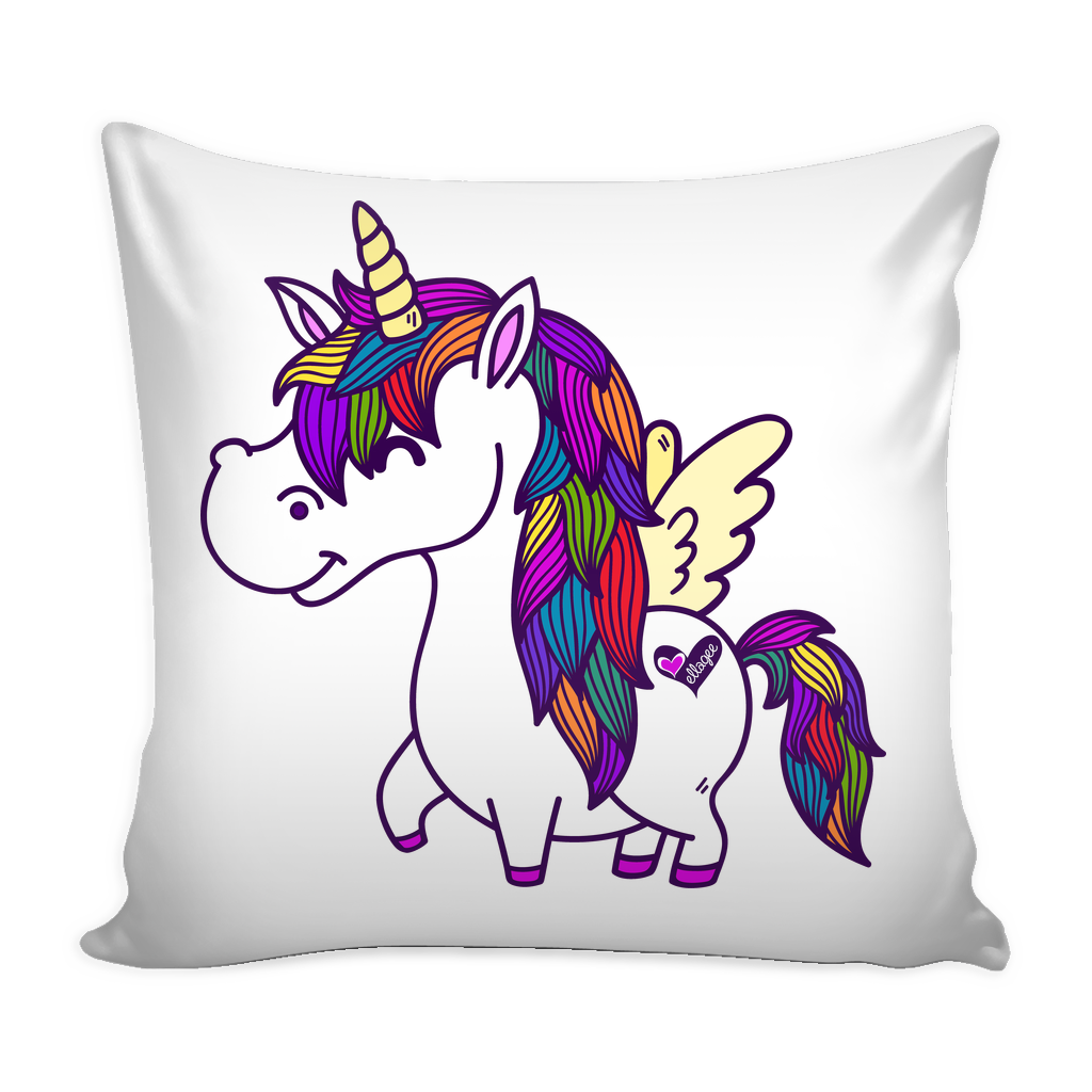 Pillow Cover - Percy the Polished Unicorn