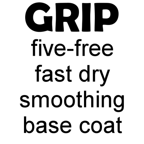 Grip 5-Free Smoothing Base Coat