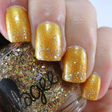 Crushed Yellow Topaz