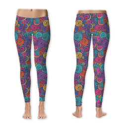 Leggings - Rainbow Swirls