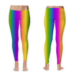 Leggings - Rainbow Vertical