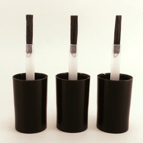 Set of 3 Wide Brushes and Caps