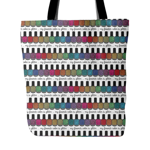 Tote Bag - My Favorite Color Is Glitter