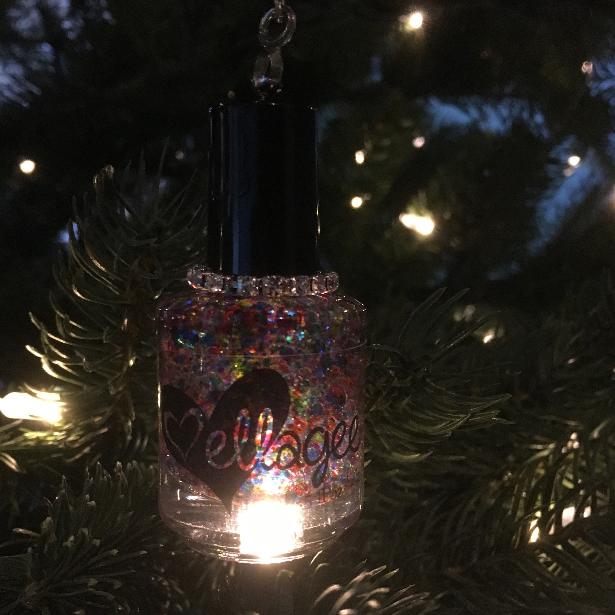 Nail Polish Ornament