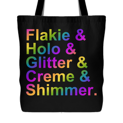 Tote Bag - & Nail Polish