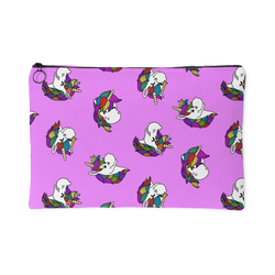 Zippered Cosmetic Bag - Percy