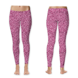 Leggings - Glitter - Pink