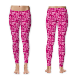 Leggings - Pink Camo