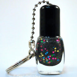 Nail Polish Bottle Key Chain