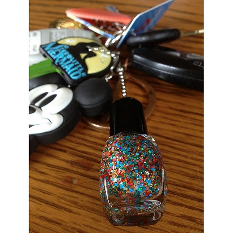 Nail Polish Key Chain