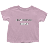 Customized Toddler Tee