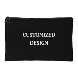 Customized Zippered Cosmetic Bag