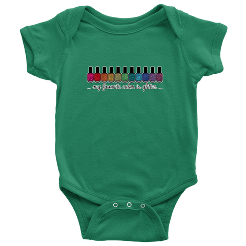 Onesie or Kids' Tee - My Favorite Color is Glitter
