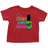 Onesie or Kids' Tee - Peace Love Polish