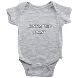 Customized Onesie