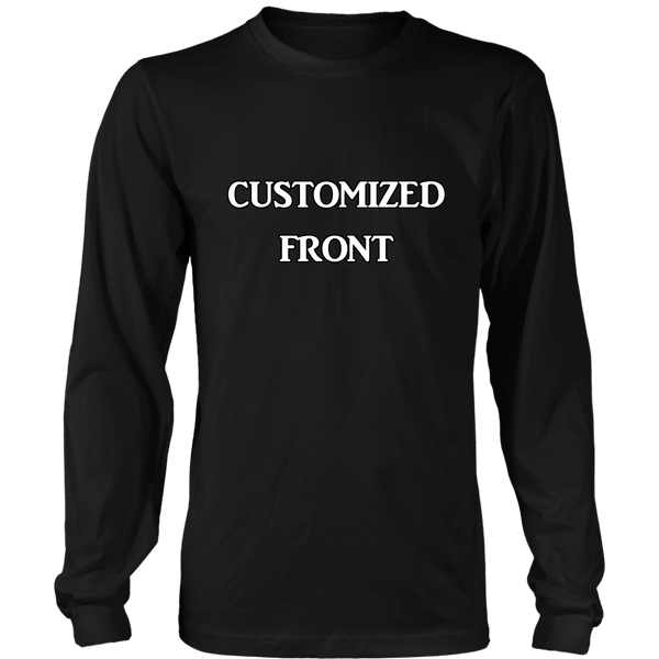 Customized Long Sleeved Tee