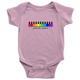 Onesie or Kids' Tee - Polish The Rainbow