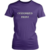 Customized Fitted Tee