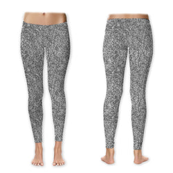 Leggings - Glitter - Silver