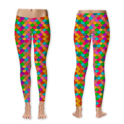 Leggings - Rainbow Scales